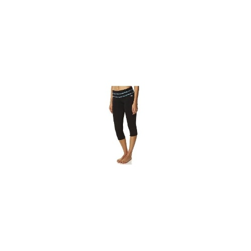 Running Bare Womens Gym Tights - Running Bare High Rise Perfect Butt 3-4 Tight With Turn Up Cuff And Po Size 10