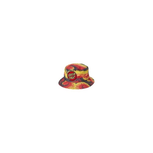 Santa Cruz - New Mens Santa Cruz Big Dot Bucket Hat Size One Size