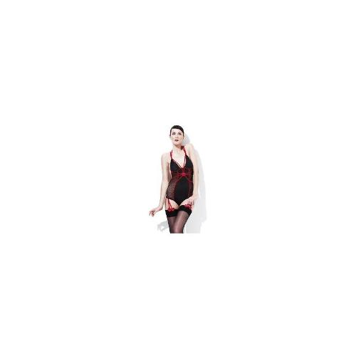 Adult Womens Fever Sweetheart Amore Smiffys Fancy Dress Costume - Large