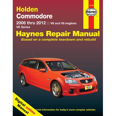 Haynes Manuals on Line - Holden Commodore VE