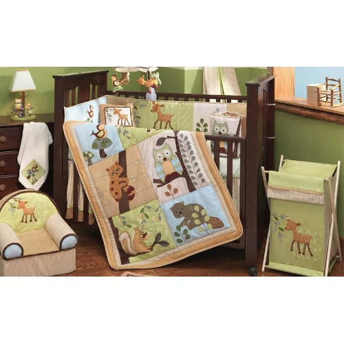 Enchanted Forest | 6 Piece Nursery Set by Lambs & Ivy
