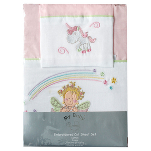 Fairy 3 Pce Sheet Set