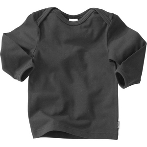 Bonds Baby Long Sleeve Stretch Tee - Black - Size 1