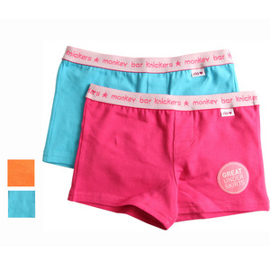 Rio Girls 2 Pack Monkey Bar Knickers - Pink/Blue - Size 2/3