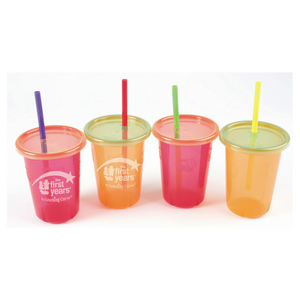 Take & Toss Straw Sippers 10oz (4pk)