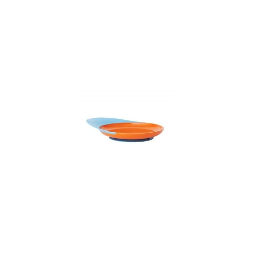 Boon Catch Plate - Blue / Tangerine