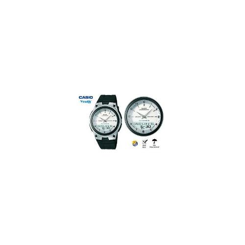 CASIO YOUTH SERIES Analog / Digital Mens 30 E-MEMO Water Watch AW80-7A