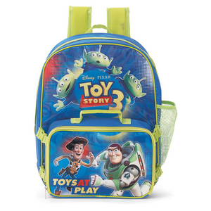 Toy Story Back Pack And Cooler Bag