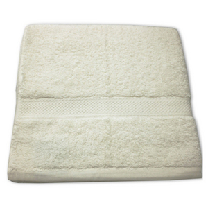 Cotton Bath Towel - Cream