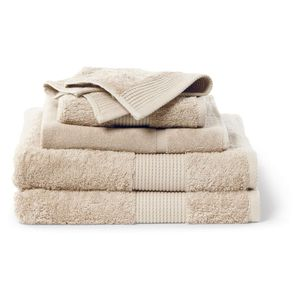 House x Home 5 Piece Towel Set - Tan