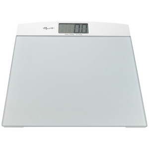Propert Wide Platform Glass Electronic Bathroom Scale