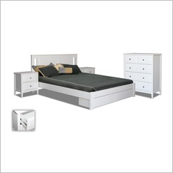 By Designs - Avignon Double Bed With Storage - Beds