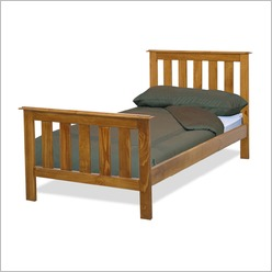 By Designs - Budget King Single Bed in Blackwood - Beds