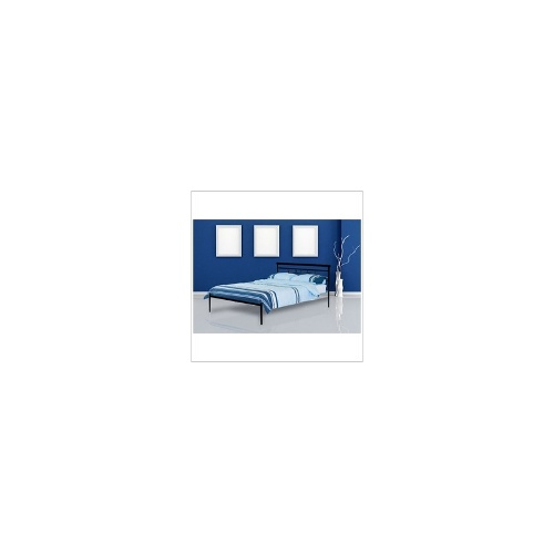 Covo Double Bed in Gloss Black - Beds