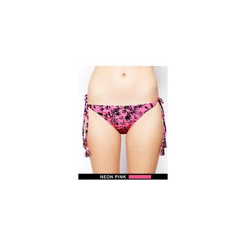 French Connection Island Storm Tie Side Bikini Bottoms