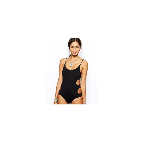 Insight Suit With Key Hole Sides - Black