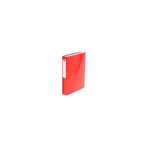 Marbig A4 Gloss 25mm 2 D-Ring Binder Red