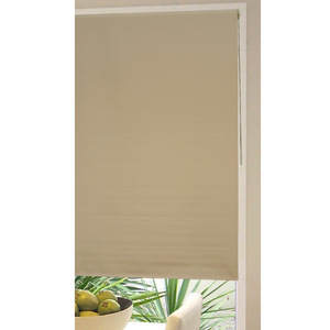 House x Home Block Out Textured Roller Blind 90 x 210 cm - Brown