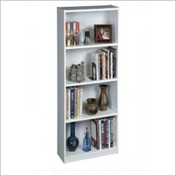 Cooper - 4 Tiers Book Shelf Colour: Chocolate - Bookcases