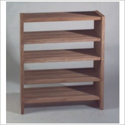 Bay Street - Stripe Rack with Five Levels - Bookcases
