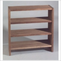 Bay Street - Stripe Rack with Four Levels - Bookcases
