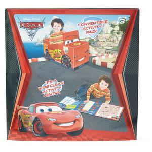 Disney Cars 2 Convertible Activity Pack