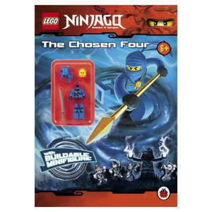 Lego Ninjago: The Chosen Four Activity Book