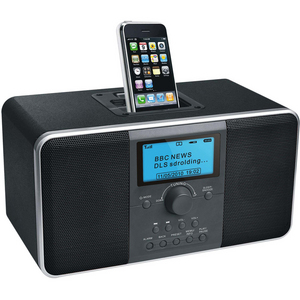AWA DAB+ Internet Radio with iPod Dock