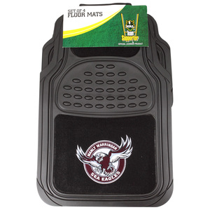 NRL Car Floor Mat Pack - Sea Eagles