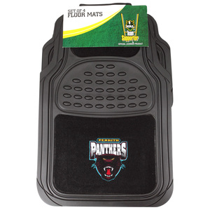 NRL Car Floor Mat Pack - Panthers