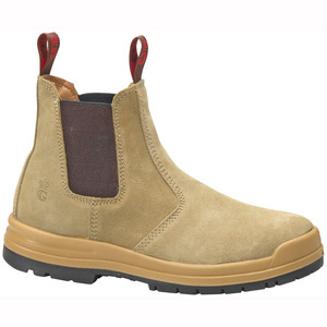 KingGee Steel Capped Safety Boot - Sandstone - Size 13