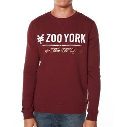 Zoo York Mens Jumpers Crew Neck - Infinite Core Crew By Zoo York