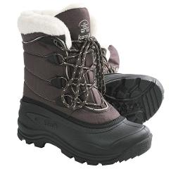 Kamik Snowmass Snow Boots - Waterproof, Insulated (For Women) - DARK BROWN ( 8 )
