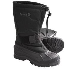 Kamik Collingwood Winter Pac Boots - Waterproof, Insulated (For Men) - BLACK ( 10 )