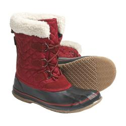 Kamik Snowfling Winter Pac Boots - Waterproof, 200g Thinsulate(R) (For Women) - RED ( 7 )