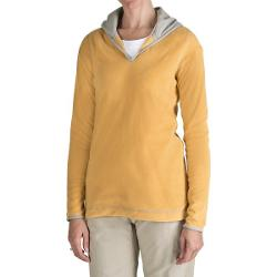 Aventura Clothing Fleece Hoodie Sweatshirt (For Women) - BUTTERCUP ( S )
