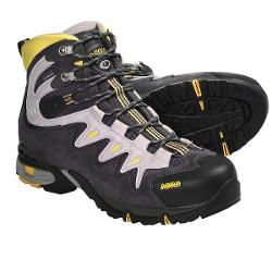Asolo Synchro Gore-Tex(R) Hiking Boots - Waterproof (For Men) - GRAPHITE/GUNMETAL/YELLOW ( 10 )