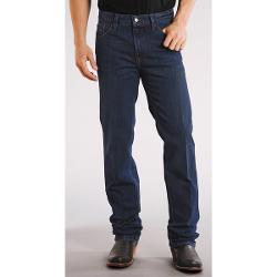 Stetson Slim Fit Straight-Leg Denim Jeans (For Men) - DARK BLUE ( 30 )