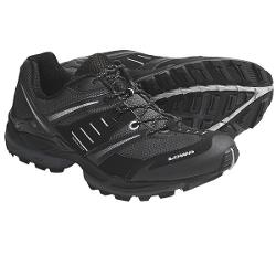 Lowa S-Cruise Mesh Trail Running Shoes (For Men) - BLACK/SILVER ( 9 )