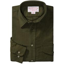 Filson Moleskin Shirt - Long Sleeve (For Men) - DARK GREEN ( 2XL )