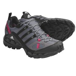 Adidas Outdoor AX 1 Gore-Tex(R) Trail Running Shoes - Waterproof (For Women) - SHARP GREY/BLACK/SHARP RED ( 5 )