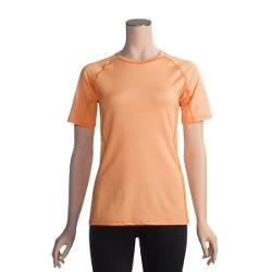 ExOfficio Sol Cool T-Shirt - UPF 50+, Short Sleeve (For Women) - LIGHT CORAL ( S )