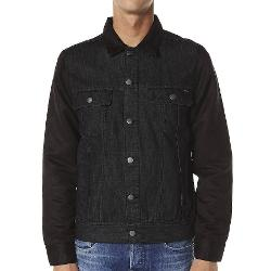 Rvca Mens Jackets Denim - Suede Head Jacket By Rvca