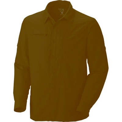 Mountain Hardware Canyon Long Sleeve Shirt - Mens, Khaki, XL