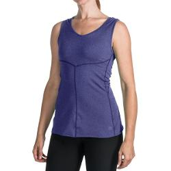 New Balance Anue Mantra Shell Tank Top (For Women) - CLEMATIS BLUE ( M )
