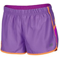 New Balance Momentum Shorts - Built-In Brief (For Women) - PURPLEHAZE/PURPLE CACTUS FLOWER ( S )