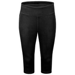 New Balance Anue Spree Knee Capris (For Women) - BLACK ( L )