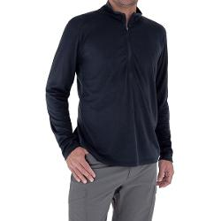 Royal Robbins Dri-Release(R) Shirt - UPF 25+, Zip Neck, Long Sleeve (For Men) - ECLIPSE ( XL )