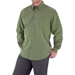 Royal Robbins Desert Pucker UPF Shirt - Sand Washed, Long Sleeve (For Men) - CANOPY ( L )
