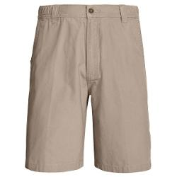 Woolrich Backpacker Peached Canvas Shorts (For Men) - KHAKI ( )